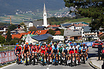 Action from the Men U23 Road Race of the 2018 UCI Road World Championships running 179.5km from Wattens to Innsbruck, Innsbruck-Tirol, Austria 2018. 28th September 2018.<br /> Picture: Innsbruck-Tirol 2018/BettiniPhoto | Cyclefile<br /> <br /> <br /> All photos usage must carry mandatory copyright credit (&copy; Cyclefile | Innsbruck-Tirol 2018/BettiniPhoto)