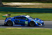 IMSA WeatherTech SportsCar Championship<br /> Michelin GT Challenge at VIR<br /> Virginia International Raceway, Alton, VA USA<br /> Friday 25 August 2017<br /> 93, Acura, Acura NSX, GTD, Andy Lally, Katherine Legge<br /> World Copyright: Richard Dole<br /> LAT Images<br /> ref: Digital Image RD_VIR_17_346