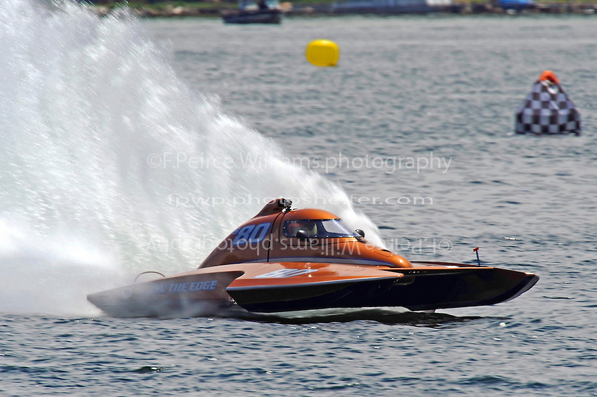 "Howie Schnabolk, S-80 ""On The Edge""  (2.5 Litre Stock hydroplane(s)"