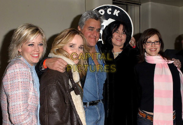 MELISSA ETHERIDGE, TAMMY LYNN MICHAELS, JAY LENO, MAVIS LENO & LISA LOEB.Rock for Choice Benefit Concert held at The Hollywood Palladium in Hollywood, California .23 January 2004       .*UK Sales Only*                                           .www.capitalpictures.com.sales@capitalpictures.com.©Capital Pictures.