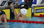 Glasgow 2014 Commonwealth Games<br /> Jazz Carlin in shock after winning gold in the women's 1500m Backstroke..<br /> <br /> 28.07.14<br /> &copy;Steve Pope-SPORTINGWALES