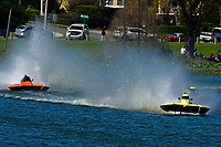 "Andrew Tate, S-80 ""On The Edge"", Bobby King, S-92 ""Tenacity"", Grant Hearn, S-14 ""Legacy 2""    (2.5 Litre Stock hydroplane(s)"