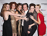 Peter Benson & Ensemble Cast attending the Broadway Opening Night Performance after party for 'The Mystery of Edwin Drood' at Studio 54 in New York City on 11/13/2012