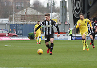 Cammy Smith in the St Mirren v Livingston Scottish Professional Football League Ladbrokes Championship match played at the Paisley 2021 Stadium, Paisley on 14.4.18.