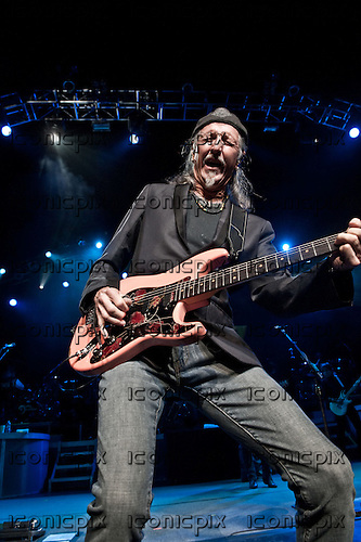 THE DOOBIE BROTHERS - guitarist vocalist Patrick Simmons performing live at The Gibson Amphitheatre in Universal City, CA USA - July 15, 2012.  Photo: © Kevin Estrada / Iconicpix