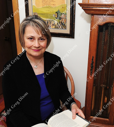 Nancy Jesse, Wisconsin People & Ideas short story winner, sits in her home in Madison, Wisconsin