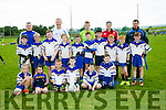 Keel GAA U8's at the John Mitchels GAA  Juvenile tournament on Saturday