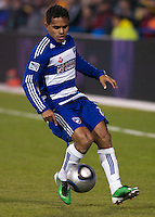 FC Dallas forward and 2010 MLS MVP David Ferreira during the 2010 MLS Cup. The Colorado Rapids defeated FC Dallas 2-1 in overtime to earn their first league title.