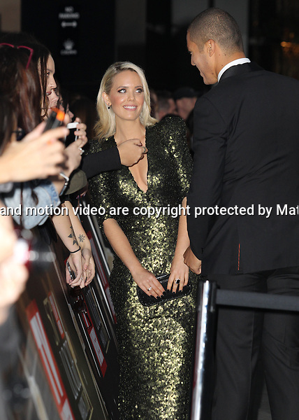 3 MAY 2015 SYDNEY AUSTRALIA<br /> <br /> NON EXCLUSIVE <br /> <br /> Celebrities, actors and guests pictured walking the red carpet at the 57th TV Week Logies Awards held at Crown Palladium.