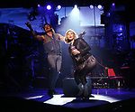 """Mitchell Jarvis and Kristen Scott during the tech rehearsal for """"Rock of Ages"""" 10th Anniversary Production on June 13, 2019 at the New World Stages in New York City."""