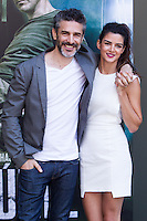 Leonardo Sbaraglia and Clara Lago during the photocall of  Al final del tunel at Warner Bros Espana in Madrid. August 8, 2016. (ALTERPHOTOS/Rodrigo Jimenez) /NORTEPHOTO.COM