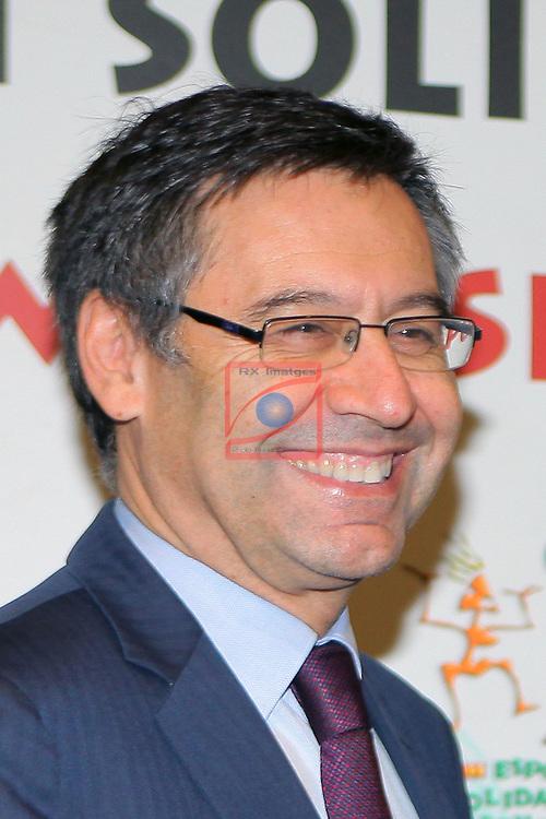XIV Sopar Solidari de Nadal.<br /> Esport Solidari Internacional-ESI.<br /> Josep M. Bartomeu.