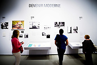 Illustration Ambiance<br /> Parigi 16-10-2017 MoMa <br /> Esposizione Arte moderna <br /> Foto JB Autissier / Panoramic / Insidefoto