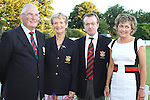President Aidan Walsh, Lady Captain Anne Walsh, Captain Niall Crimmons and Tracey Crimmons at the Baltray and District Residents Association Gala Dinner Dance in Co.Louth Golf Club...Picture Jenny Matthews/Newsfile.ie