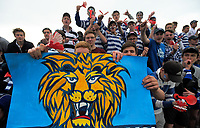 Fans at the UC Championship 1st XV rugby final between Christchurch Boys' High School and Timaru Boys' High School at Christchurch Boys' High School in Christchurch, New Zealand on Saturday, 26 August 2017. Photo: Dave Lintott / lintottphoto.co.nz