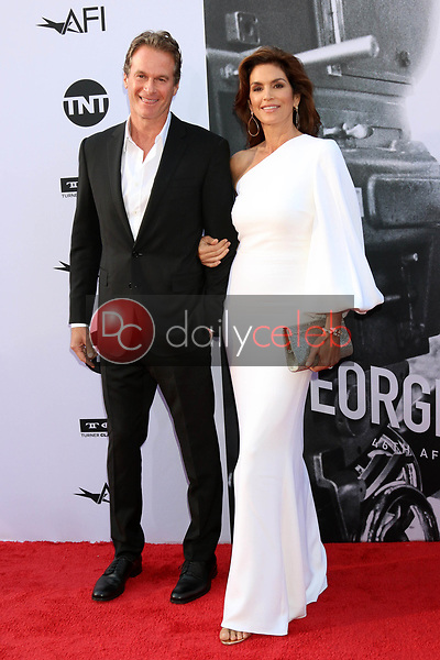 Rande Gerber, Cindy Crawford<br /> at the American Film Institute Lifetime Achievement Award to George Clooney, Dolby Theater, Hollywood, CA 06-07-18<br /> David Edwards/DailyCeleb.com 818-249-4998