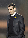 St Mirren v St Johnstone...25.03.14    SPFL<br /> Danny Lennon looks on<br /> Picture by Graeme Hart.<br /> Copyright Perthshire Picture Agency<br /> Tel: 01738 623350  Mobile: 07990 594431