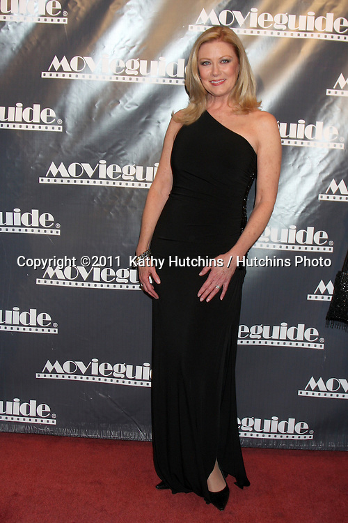 LOS ANGELES - FEB 18:  Nancy Stafford arrives at the 19th Annual Movieguide Awards Gala at Universal Hilton Hotel on February 18, 2011 in Los Angeles, CA
