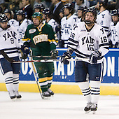 Sean Backman (Yale - 16) - The University of Vermont Catamounts defeated the Yale University Bulldogs 4-1 in their NCAA East Regional Semi-Final match on Friday, March 27, 2009, at the Bridgeport Arena at Harbor Yard in Bridgeport, Connecticut.