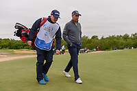 Padraig Harrington (IRL) makes his way to the tee on 8 during round 2 of the AT&T Byron Nelson, Trinity Forest Golf Club, Dallas, Texas, USA. 5/10/2019.<br /> Picture: Golffile | Ken Murray<br /> <br /> <br /> All photo usage must carry mandatory copyright credit (© Golffile | Ken Murray)