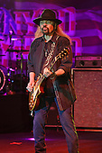 POMPANO BEACH FL - FEBRUARY 10: Gary Rossington of Lynyrd Skynyrd performs at The Pompano Beach Amphitheater on February 10, 2017 in Pompano Beach, Florida. Photo by Larry Marano © 2017