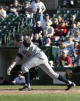 May 30, 2004:  Joe Vitiello of the Toledo Mudhens during a game at Frontier Field in Rochester, NY.  The Mudhens are the Triple-A International League affiliate of the Detroit Tigers.  Photo By Mike Janes/Four Seam Images