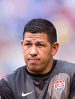 Nick Rimando.  The United States defeated El Salvador, 5-1, during the quarterfinals of the CONCACAF Gold Cup at M&T Bank Stadium in Baltimore, MD.