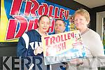 Winner of Trolley Dash Ann O'Regan with husband Johnny and Kerry's Eye journalist Anne Pullen.