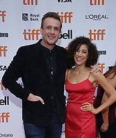 "TORONTO, ONTARIO - SEPTEMBER 06: Jason Segal and Marielle Scott attend ""The Friend"" premiere during the 2019 Toronto International Film Festival at Princess of Wales Theatre on September 06, 2019 in Toronto, Canada. <br /> CAP/MPI/IS/PICJER<br /> ©PICJER/IS/MPI/Capital Pictures"