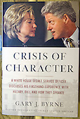 """Crisis of Character: A White House Secret Service Officer Discloses His Firsthand Experience With Hillary, Bill, and How They Operate"" by Gary J. Byrne, as the author is interviewed in Alexandria, Virginia on Thursday, June 23, 2016.<br /> Credit: Ron Sachs / CNP<br /> (RESTRICTION: NO New York or New Jersey Newspapers or newspapers within a 75 mile radius of New York City)"