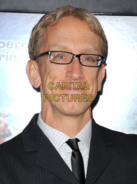 Andy Dick.at The Dimension Films Premiere of 'Scary Movie 5' held at The Cinerama Dome in Hollywood, California, USA, April 11th 2013.                                                               .portrait headshot glasses tie .CAP/DVS.©Debbie VanStory/Capital Pictures