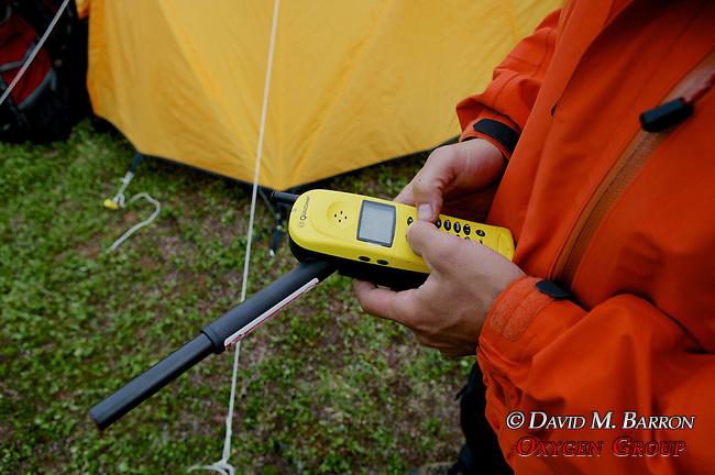 Scott Using Satellite Phone