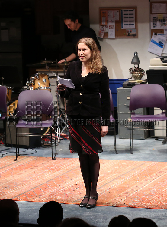 Deborah Yarchun during the 2018 Presentation of New Works by the DGF Fellows on October 15, 2018 at the Playwrights Horizons Theatre in New York City.