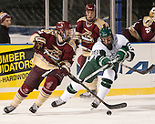 Brian Rowland (Norwich - 26), Troy Starrett (Babson - 21) - The Norwich University Cadets defeated the Babson College Beavers 1-0 on Thursday, January 9, 2014, at Fenway Park in Boston, Massachusetts.