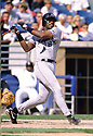 CIRCA 1998: Fred McGriff #29, of the Tampa Bay Devil Rays at bat during a game from his 1998 season with the Tampa Bay Devil Rays. Fred McGriff played for 19 years, with 6 different teams and was a 5-time All-Star ((Photo by: 1998 SportPics)  *** Local Caption *** Fred McGriff