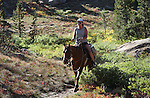Images from a horseback ride to Granite Lake in Alpine County, near Hope Valley, Ca. on Wednesday, Sept. 28, 2011..Photo by Cathleen Allison