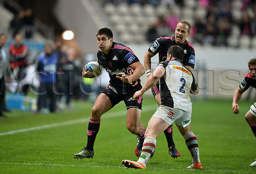 04.04.2014. Paris, France. Amlin Challenge Cup Rugby. Stade Francais versus Harlequins.  Paul Williams (sf)