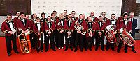 The Tredegar Town Band  at The Old Vic Bicentenary Ball held at The Old Vic, The Cut, Lambeth, London, England, UK on Sunday13 May 2018.<br /> CAP/MV<br /> &copy;Matilda Vee/Capital Pictures
