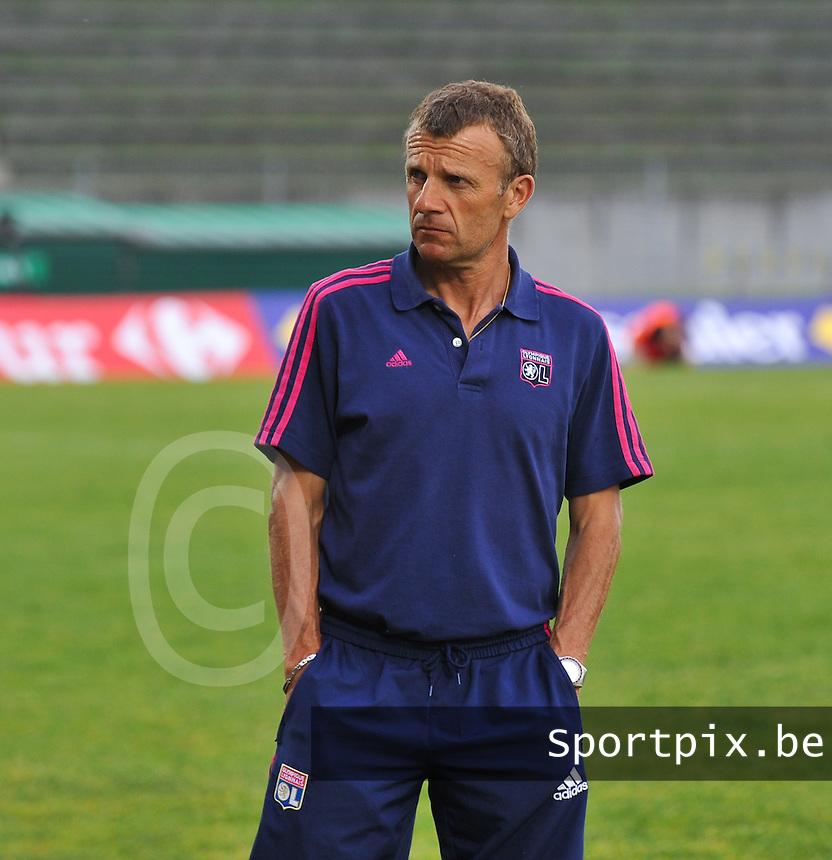 Football Club Feminin Juvisy Essonne - Olympique Lyon :.Patrice Lair.foto DAVID CATRY / JOKE VUYLSTEKE / Vrouwenteam.be