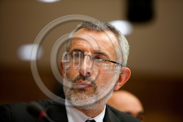 BRUSSELS - BELGIUM - 2 JUNE 2010 -- Guillaume Pepy, CEO for the French railways SNCF... PHOTO: ERIK LUNTANG / EUP-Images