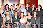 GOLF: Enjoying the Killorglin Womens Golf Society Social in Killorglin Golf Club last Friday night were, front row l-r: Mary McKenna, Maggie Teahan, Elmarie OShea, Shivaun OShea and Geraldine Sheehan. Back row l-r: Sheila McKenna, Olivia Butler, Kathleen Hannafin, Kathleen ODonnell, Mary OConnor, Lorraine Courtney, Sheila Murphy, Sheila Houlihan, Eileen OConnor and Tara McCarthy..
