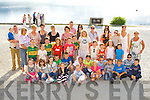 Children from Chernobyl and their host families get ready for a boat trip at Ross Castle on Tuesday evening