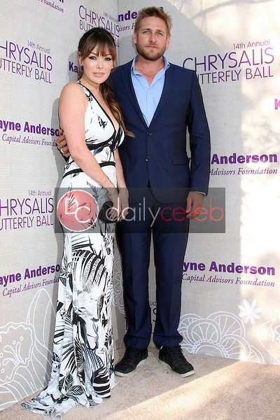 Lindsay Price, Curtis Stone at the 14th Annual Chrysalis Butterfly Ball, Private Residence, Los Angeles, CA 06-06-15<br /> David Edwards/DailyCeleb.com 818-249-4998
