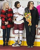 ?, Kaliya Johnson (BC - 6), Kelli Johnson - The Boston College Eagles defeated the visiting Providence College Friars 7-1 on Friday, February 19, 2016, at Kelley Rink in Conte Forum in Boston, Massachusetts.