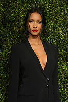 NEW YORK, NY - NOVEMBER 6: Lais Ribeiro at the 14th Annual CFDA Vogue Fashion Fund Gala at Weylin in Brooklyn, New York City on November 6, 2017. <br /> CAP/MPI/JP<br /> &copy;JP/MPI/Capital Pictures