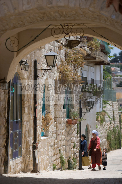 Asie/Israël/Galilée/Safed: ruelle
