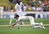 3rd December 2017, Wellington, New Zealand;  Trent Boult fielding.<br /> Day 3. New Zealand Black Caps v West Indies. 1st test match of the ANZ International Cricket Season 2017/18 season. Basin Reserve, Wellington,