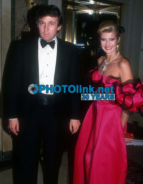 Donald & Ivana Trump 1990<br /> Photo By John Barrett/PHOTOlink.net