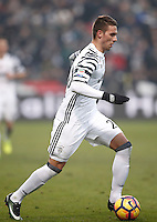 Calcio, Serie A: Sassuolo vs Juventus. Reggio Emilia, Mapei Stadium, 29 gennaio 2017. <br /> Juventus' Marko Pjaca in action during the Italian Serie A football match between Sassuolo and Juventus at Reggio Emilia's Mapei stadium, 29 January 2017<br /> UPDATE IMAGES PRESS/Isabella Bonotto