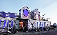 Nederland Utrecht - november 2018. Nieuwbouwwijk Leidsche Rijn. RAUM; een openbaar expositieplein op het Berlijnplein.   Foto Berlinda van Dam / Hollandse Hoogte